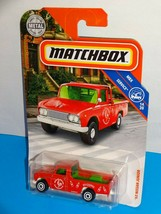 Matchbox 2019 MBX Service #89 '62 Nissan Junior Red Pickup Truck - $3.00