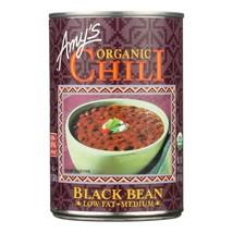 Amy's - Organic Medium Black Bean Chili - Case Of 12 - 14.7 Oz - $68.96