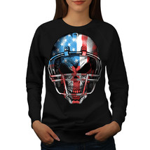 America Football Jumper USA Flag Women Sweatshirt - $18.99