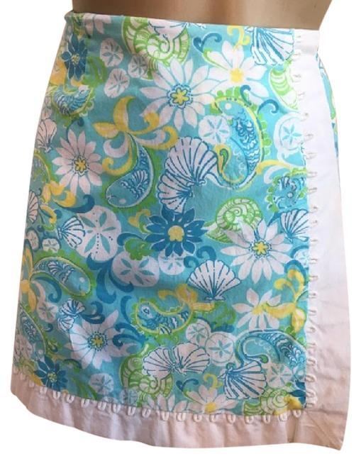 fc841f646c0567 Lilly Pulitzer Floral Print Skort Skirt 8 and 27 similar items
