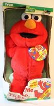 1996 Tyco Original Sesame Street Tickle Me Elmo Doll STILL TALKS IN BOX - $44.28