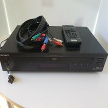 Sony DVP-S7000 Audiophile Reference Standard Hi-End DVD/CD Player w/Remote.  - $197.99