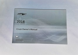 2018 Chevrolet Cruze Owners Manual 05153 - $22.72