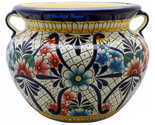 90303 ceramic talavera mexican hand painted planters 1 size1 thumb155 crop