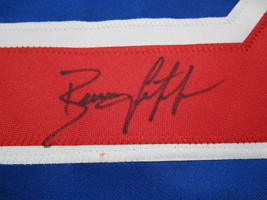 BRIAN LEETCH / NHL HALL OF FAME / AUTOGRAPHED N.Y. RANGERS CUSTOM JERSEY / COA image 4