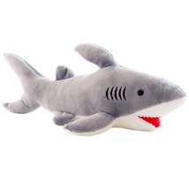High Quality 70cm Shark Plush Toy Stuffed Pillow Doll Birthday Gift Kids Toy Bab image 5