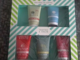 Crabtree & Evelyn Body Wash Gift Set - $15.84