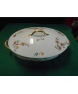 Beautiful CH.FIELD Haviland Limoges GDA France- CASSEROLE with Lid - $22.58