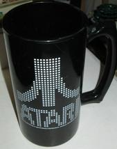 Atari Pixel Logo Huge Mug Beer Stein Video Arcade Game - $15.00