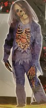Zombie Corpse Walking Dead Ghoul Scary Halloween 5-pc. Kids Large Size Costume - $15.47