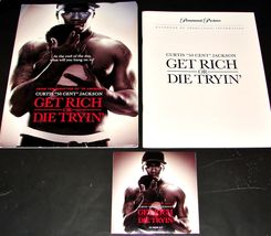 2005 Movie GET RICH OR DIE TRYIN' PRESS KIT 34 Photo CD-ROM Production N... - $9.65