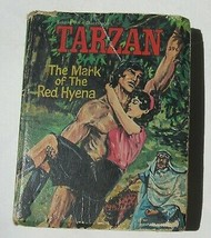 Big Little Book TARZAN Mark of the Red Hyena Hardcover 1967 Vintage Whitman - $3.86