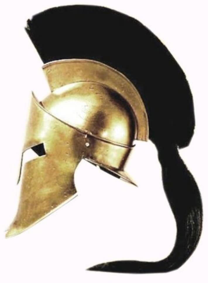 Primary image for King Spartan 300 Movie Helmet + Liner & Stand for Re-Enactment,LARP,Role Play