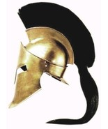 King Spartan 300 Movie Helmet + Liner & Stand for Re-Enactment,LARP,Role... - $99.00