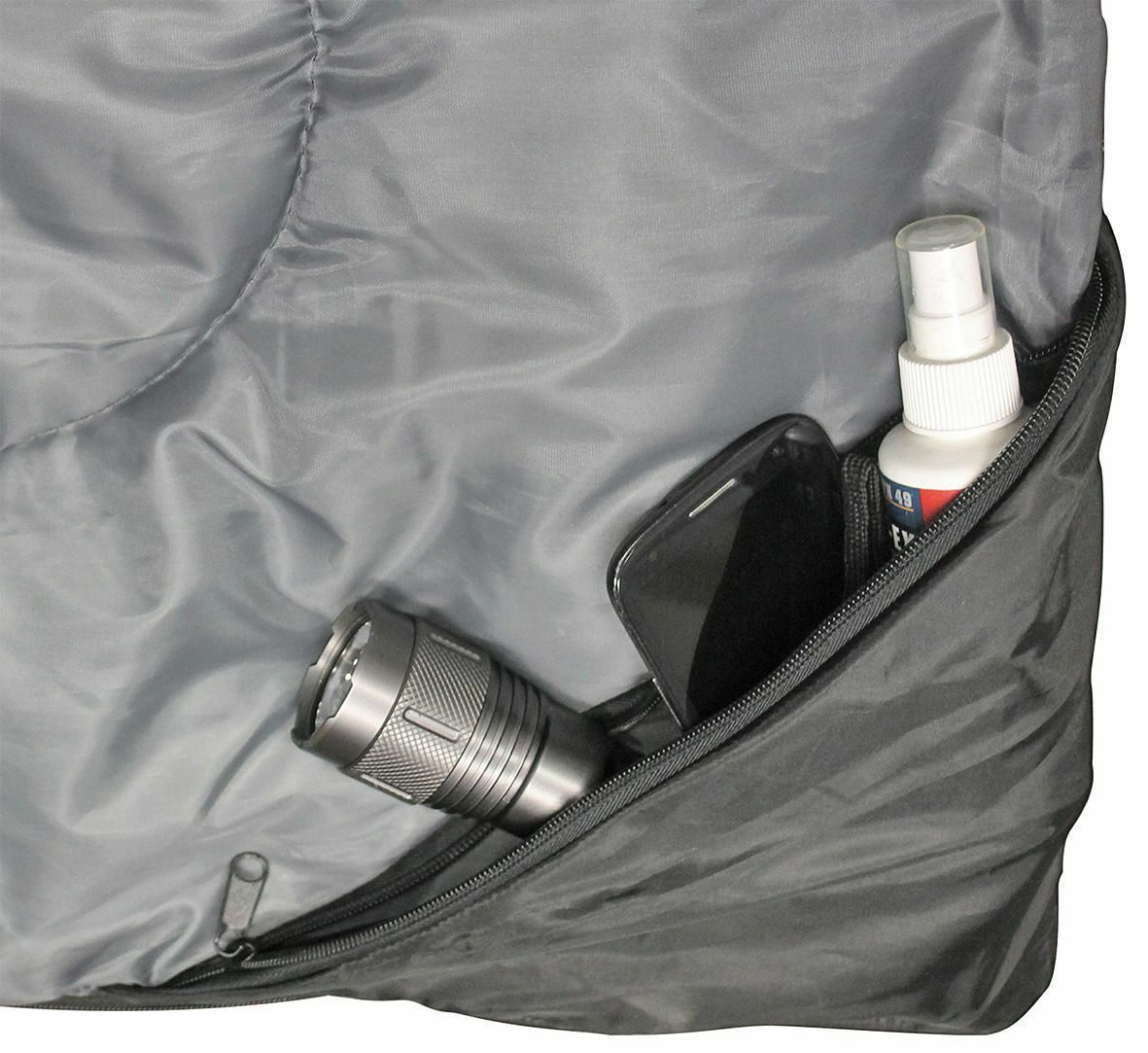 North 49 Double Comfort Sleeping Bag Extra space for 2 people image 2