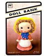 Doll Coin Bank - $15.00