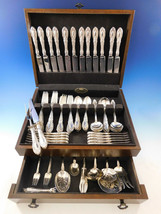 King Richard by Towle Sterling Silver Flatware Set for 12 Service 98 pieces - $5,850.00