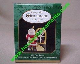 Miniature - Night Before Christmas , The - Jolly Old Santa - Hallmark Ornament - $0.98