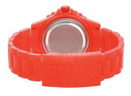 EOS New York Unisex Marksmen Plastic Orange Quartz Analog Watch #359SORG NIB image 2
