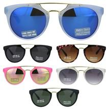 Kids Size Girls Flat Top Mod Retro Designer Fashion Plastic Sunglasses - $9.95