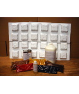 24-Mold DIY Supply Kit Makes 1000s of Cobblestone Tile Patio Pavers for ... - $189.99