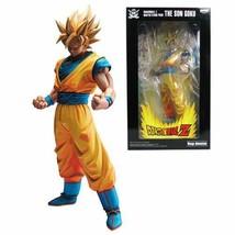 """Banpresto Dragon Ball Z Master Stars Son Goku Super Siyan 11"""" Statue"""