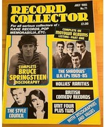 Record Collector Magazine July 1985 No. 71 Bruce Springsteen The Shadows... - $11.85