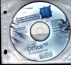 Microsoft Office XP Professional - Windows PC - $4.95