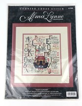 Bucilla Alma Lynne Designs Counted Cross Stitch Kit Noah's Alphabet, Ark - $24.49