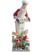 Lenox 2019 Pencil Santa Figurine Santa's Christmas Cookies Gingerbread Man NEW - $128.70