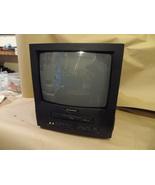 """SYLVANIA TV / VCR PLAYER BUILT IN COMBO WORKS GREAT 13"""" SCREEN SSC130 NO... - $129.99"""