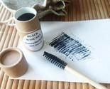 MASCARA BLACK Natural Ayurvedic Herbal HANDMADE IN USA Eye Makeup Zero Waste