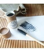 MASCARA BLACK Natural Ayurvedic Herbal HANDMADE IN USA Eye Makeup Zero W... - $12.59