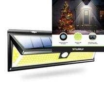 Lampe Solaire Murale Extérieure Noire avec Capteur de Mouvement, Solarly... - $52.76