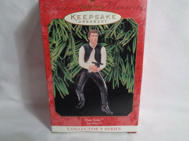 Hallmark 1999 Keepsake Ornament Star Wars Han Solo Collector's Series - ... - $12.38