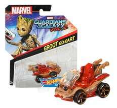 Hot Wheels Groot Go-Kart Guardians of the Galaxy Vol.2 Character Cars MOC - $6.88