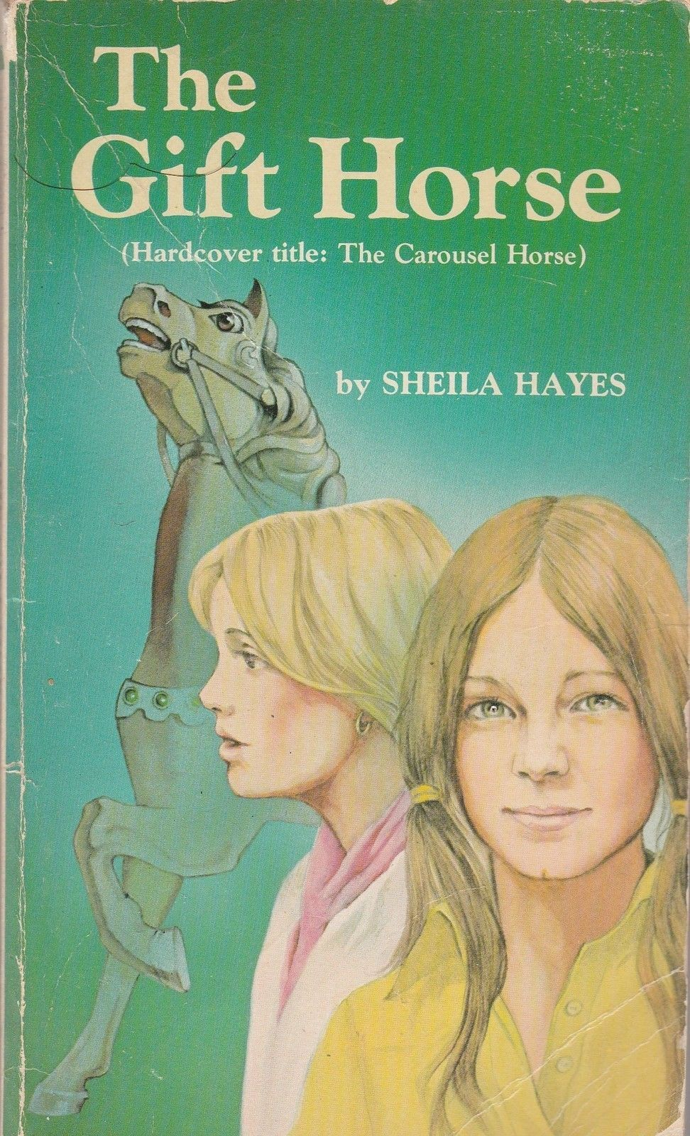 The Gift Horse by Sheila Hayes 1978 Vintage Scholastic Paperback