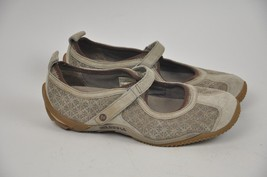 Women's MERRELL Circuit MJ Taupe Mary Jane Size 9 Q Form Ortholite Suede... - $29.03