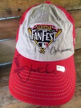 All Star FAN FEST Autographed St Louis Cardinals Adjustable Adult Hat Cap  - $59.39