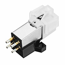 Magnetic Cartridge Stylus With LP Vinyl Record Needle For Phonograph Tur... - $20.78