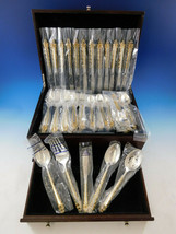 Golden La Strada by International Sterling Silver Flatware Set Service 6... - $3,900.00