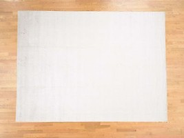 "8'9""x11'10"" HandLoomed Art Silk Tone on Tone Oriental Rug G39806 - $844.47"