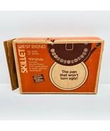 "Vintage West Bend 4159 TufWhite 12"" Skillet Pan Decorated Aluminum New O... - $72.88"