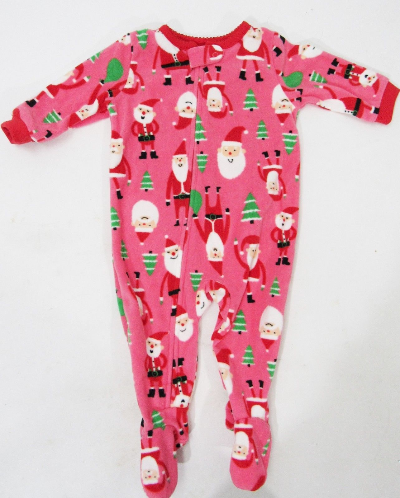 84de0d512 Carter's Pink Fleece Footed One Piece and 50 similar items. S l1600