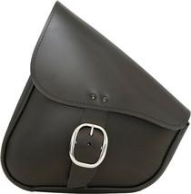Leather Swingarm Bag Black W/Chrome Buckle Willie & Max 59823-00 - $149.99