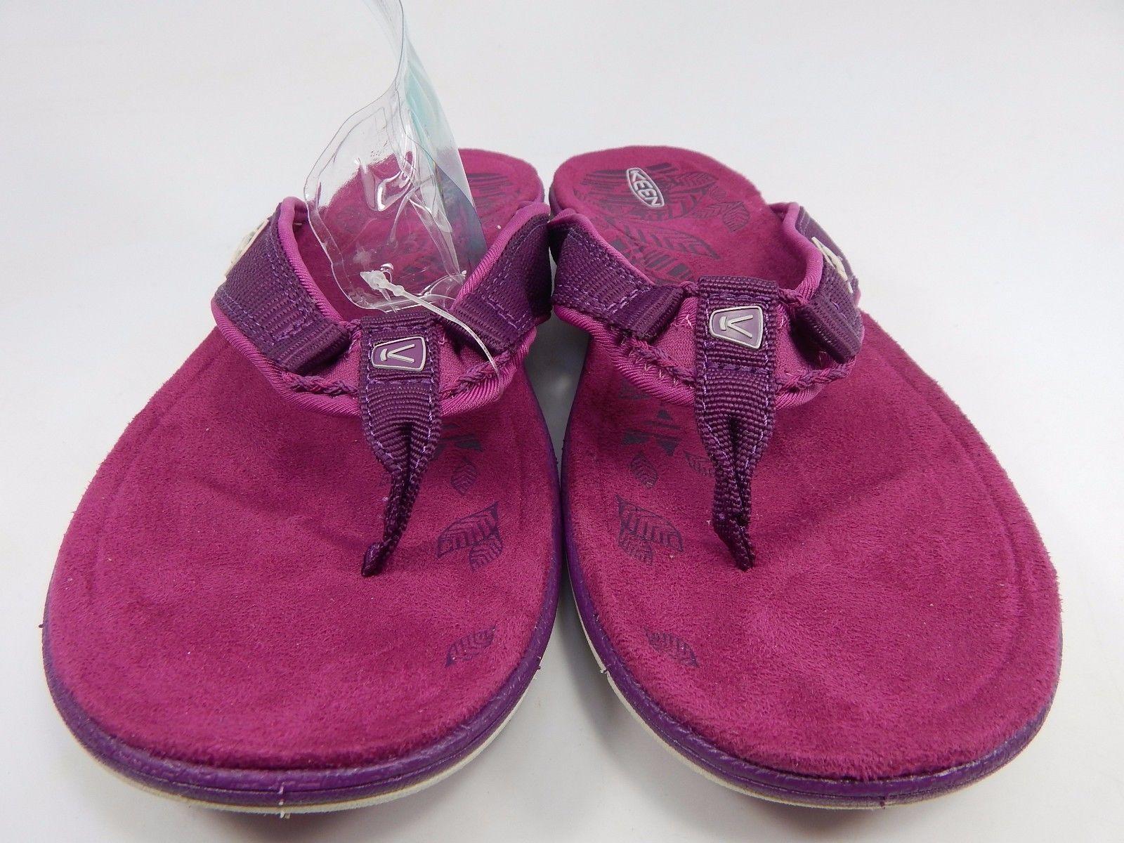 Keen Maya Flip Women's Sports Sandals Sz US 7 M (B) EU 37.5 Dark Purple Wine