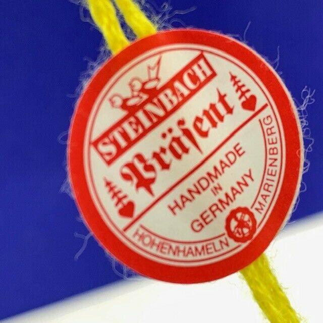 Steinbach Christmas ornament W Germany Brafent wood nutcracker Boy Scouts flag
