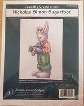 Jeanette Crews Presents Nicholas Simon Sugarfoot Counted Cross Stitch Ki... - $49.99