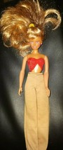1988 Hasbro Girl Doll With Clothing And Earrings - $10.00
