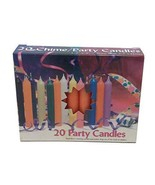 Biedermann & Sons Chime or Tree Candles 20-Count Box, Orange - $9.95